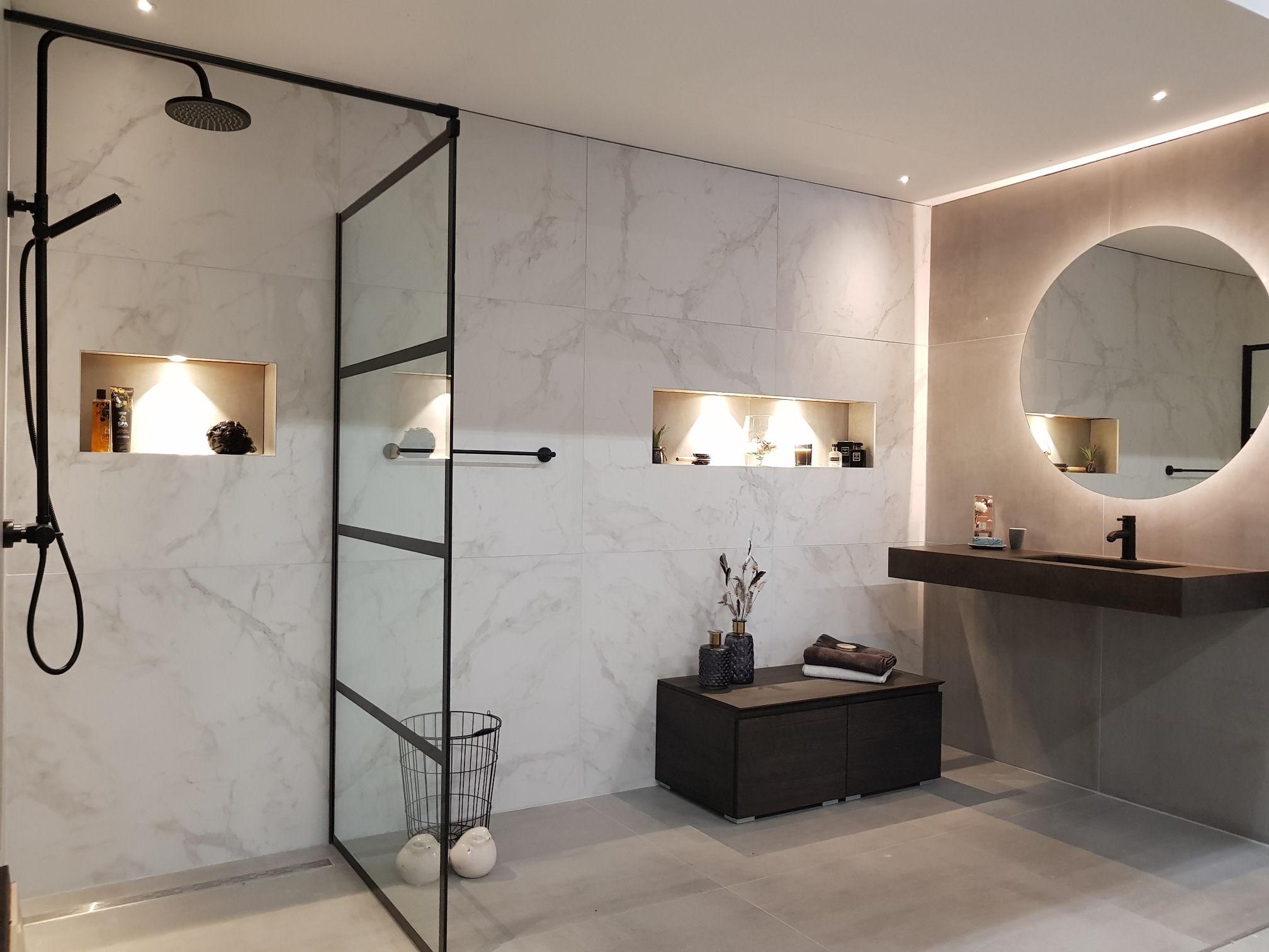 Best ronde spiegel badkamer pictures new home design